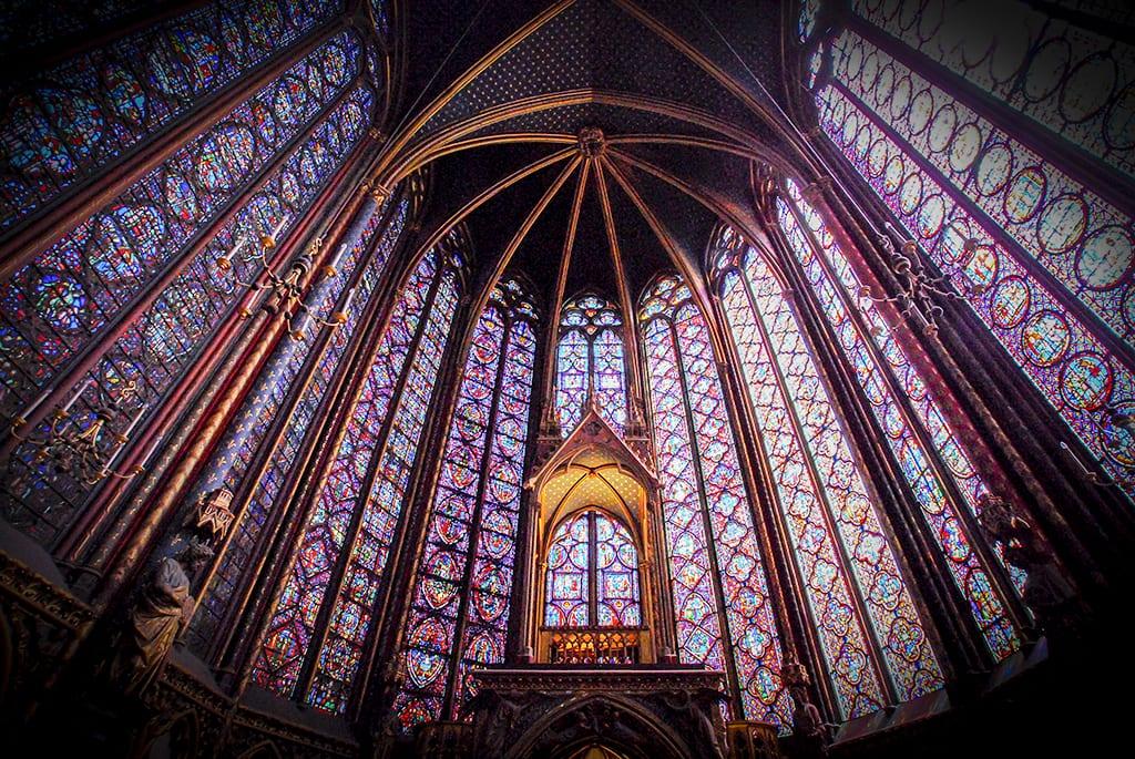 St. Chapelle Chapel in Paris by Photographer Jill K H Geoffrion
